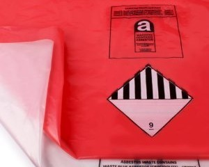 ASBESTOS REMOVAL BAGS RED (INNER)