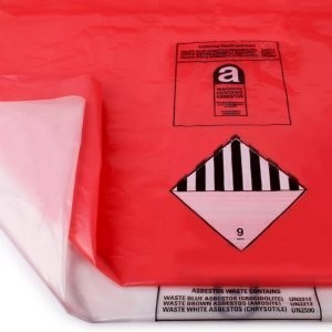 ASBESTOS REMOVAL BAGS RED (INNER)