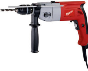 750W PERCUSSION DRILL 240V    PD2E20R/SK MILWAUKEE 2 SPEED