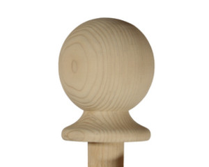 BURBIDGE STAIR PINE CAP BALL        NC2P