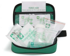 FIRST AID KIT 1 PERSON           7401100