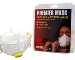 FACE MASK VALVED FFP1 (X2) (DUST) P13002