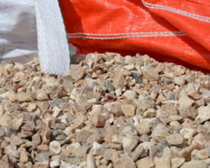 CHIPPINGS SOLENT FLINT GOLD BULK BAG