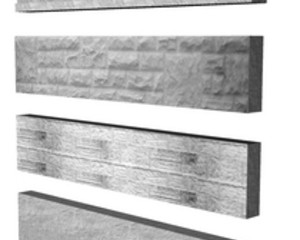 CONCRETE GRAVEL  BOARD  SMOOTH 6' X 6