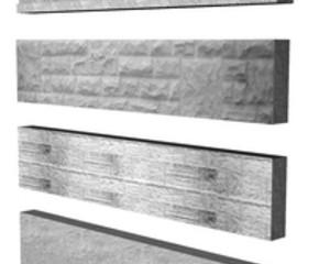 CONCRETE GRAVEL  BOARD  SMOOTH 6' X 12