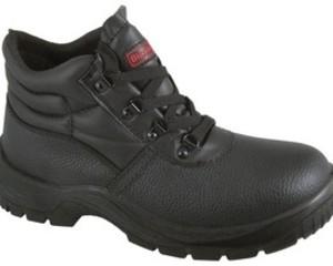 CHUKKA SAFETY BOOTS BLACK SF02